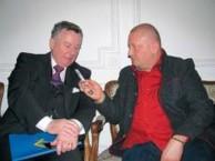 Interviewing Ill. & M.P. Bro. EBERHARD DESCH, 33