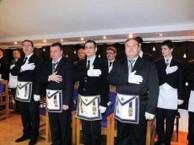 Ceremonie de inițiere în București
