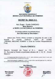 diploma Claudiu